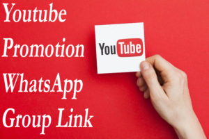 Youtube Promotion WhatsApp Group