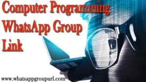 Computer Programming WhatsApp Group