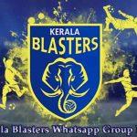 Kerala Blasters Whatsapp Group Link